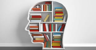 books in head shelf
